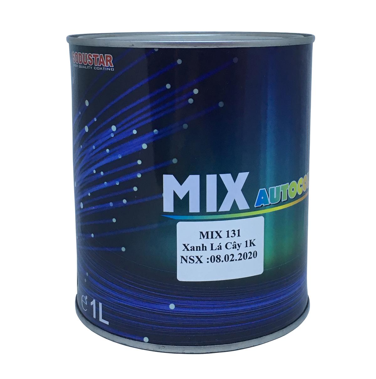 Sơn màu Xanh lá cây 1 thành phần (1K) - MIX 131