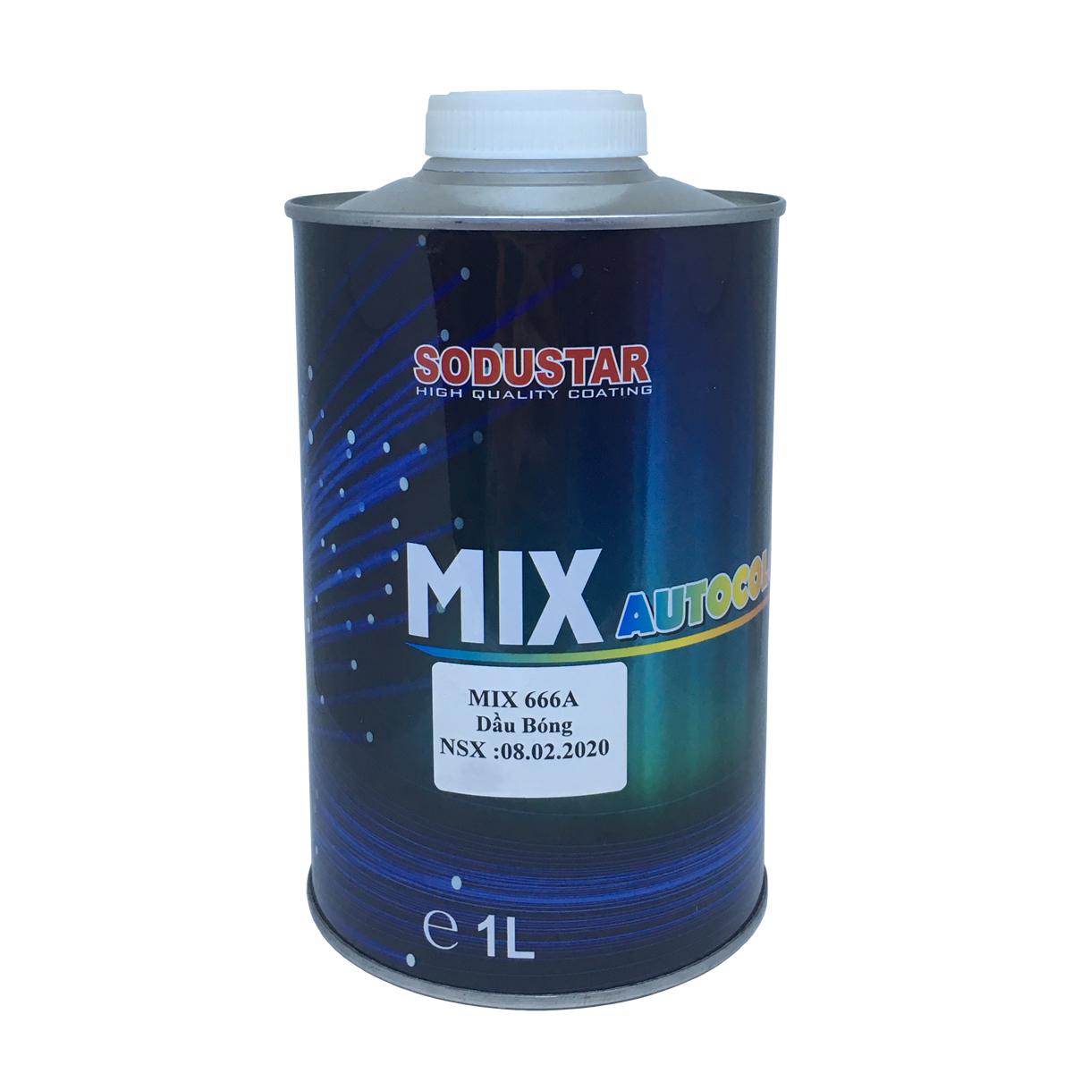 Dầu bóng phổ thông - MIX 666A