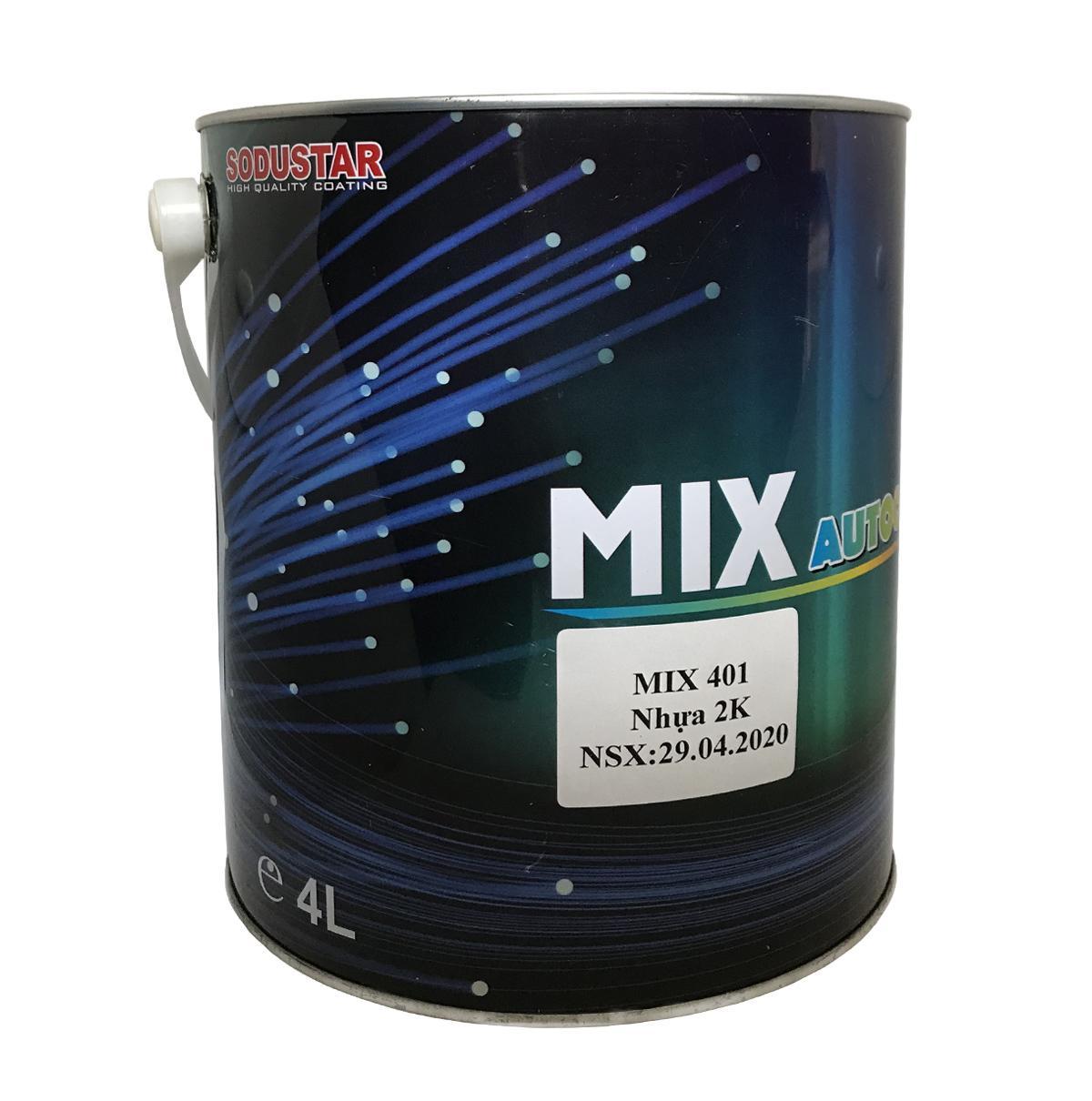 Phụ gia pha sơn 2K ( Nhựa - Bai Đơ ) - MIX 401